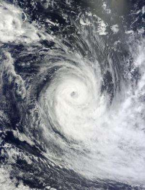 2 NASA satellites see Cyclone Gino's 'centered' power