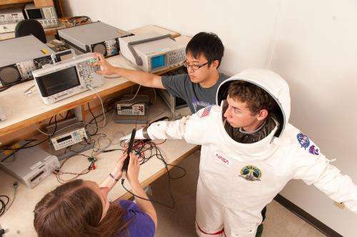 Engineers design spacesuit tools, biomedical sensors to keep astronauts healthy