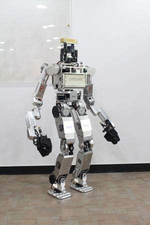 KAIST's HUBO ready for DARPA's Robotics Challenge trials