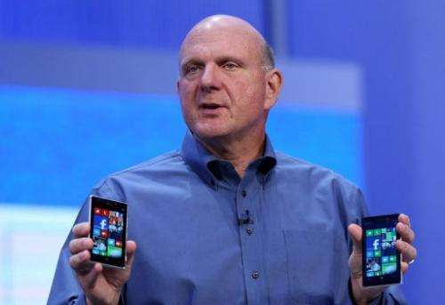 Microsoft CEO Steve Ballmer speaks during the Microsoft Build Conference on June 26, 2013 in San Francisco, California