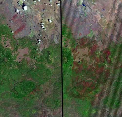 NASA's Landsat revisits old flames in fire trends