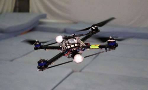 New algorithm makes quadrocopters safer