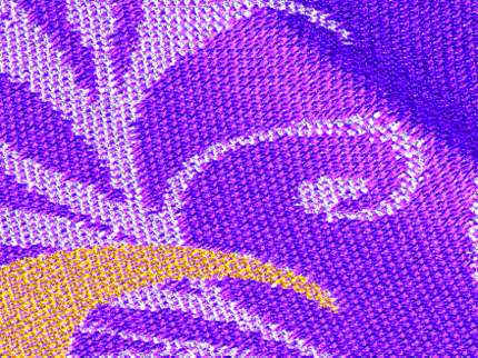 Precomputing speeds up cloth imaging