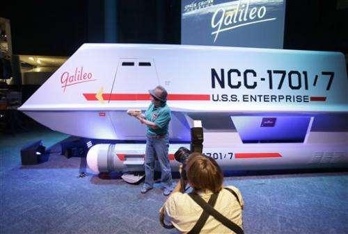 Restored Star Trek ship Galileo arrives in Houston