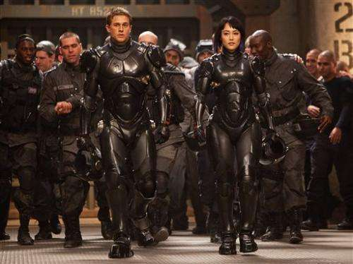 Review: 'Pacific Rim' is skillful _ and very noisy