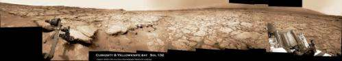 Rover team chooses first rock drilling target for Curiosity