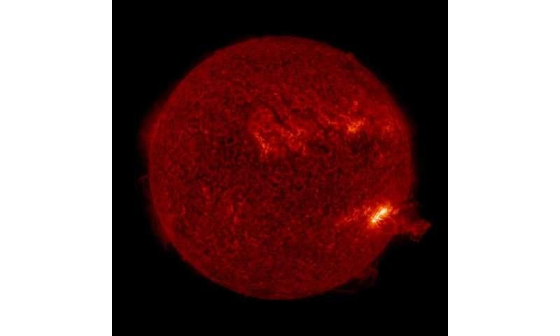 Solar splashdown