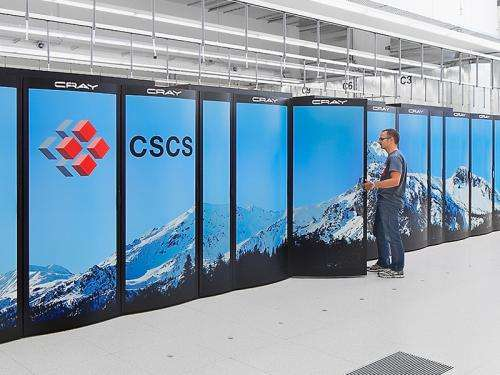 Supercomputer boosted with graphic processors
