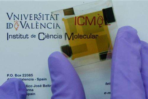 The University of Valencia creates a low cost thin film photovoltaic device with high energy efficiency