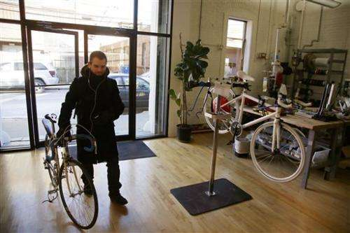 US high-tech startup hopes to change biking