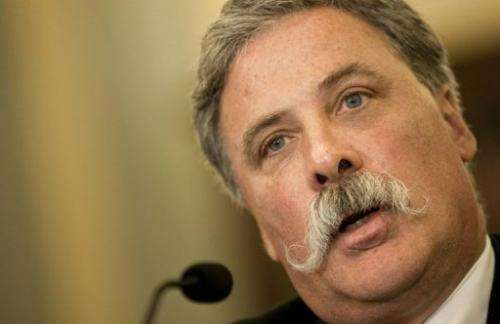 21st Century Fox chief operating officer Chase Carey speaks during a hearing on November 17, 2010 in Washington, DC