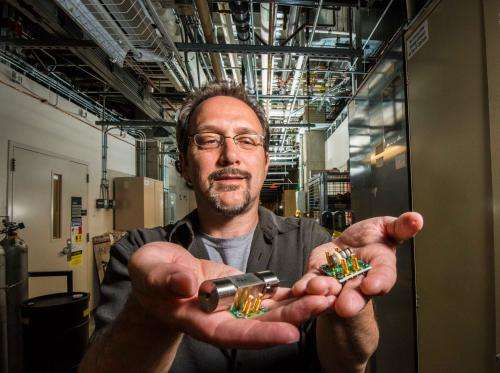 Researching new detectors for chemical, biological threats