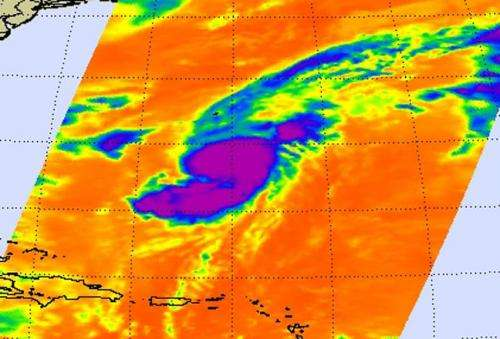 NASA sees Tropical Storm Gabrielle resurrected in the Atlantic, Global Hawk to investigate
