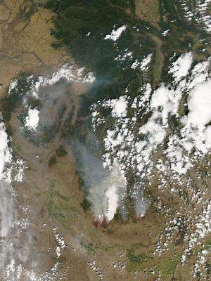 2 wildfires in Idaho