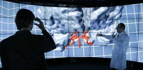 Future science: Using 3D worlds to visualize data