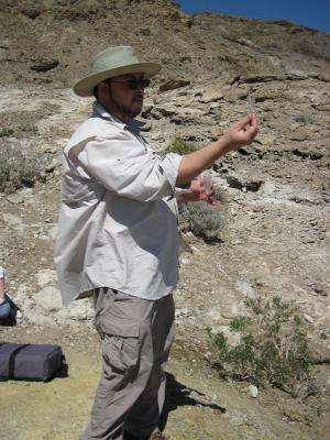 Microbiologist at the Desert Research Institute makes his mark in Death Valley