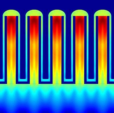 Researchers devise method to create efficient indium phosphate nanowire photovoltaics