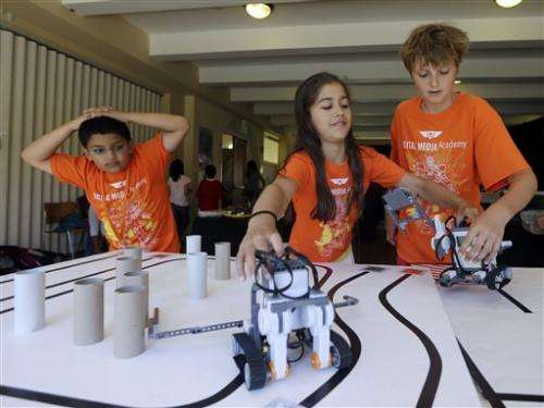 Silicon Valley keenly awaits latest Lego robot kit