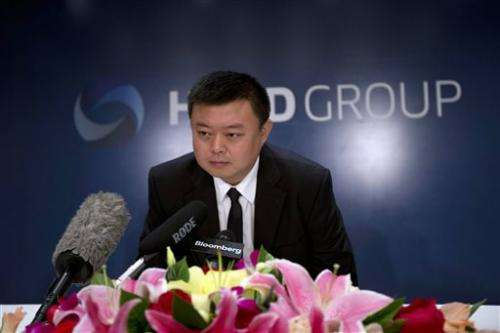 Spotty record for Chinese exec with canal dream