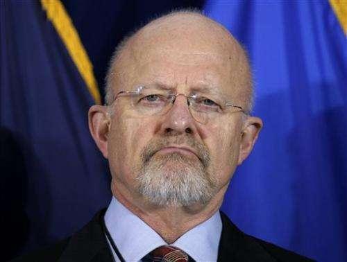 US intelligence chief backs Internet spy program