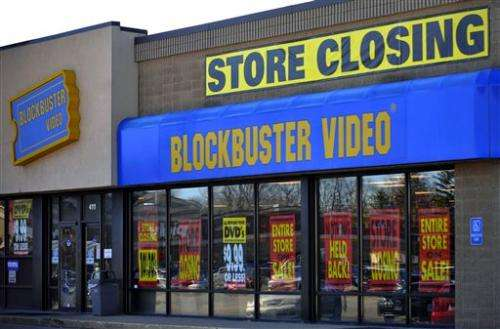 300 Blockbuster video stores to close in US