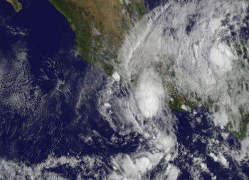 NASA sees Tropical Storm Raymond finally moving away from Mexico