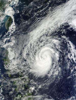 NASA sees Tropical Storm Krosa approach the Philippines