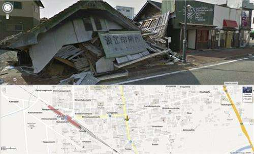 Google adds street views inside Japan nuclear zone