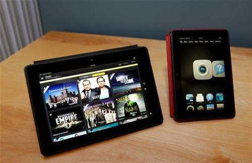 Amazon unveils Kindle Fire HDX with 24/7 live help