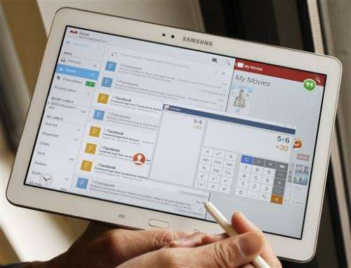 Review: Samsung tablet offers PC-like multitasking