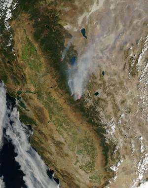 Rim Fire update -- Aug. 30, 2013