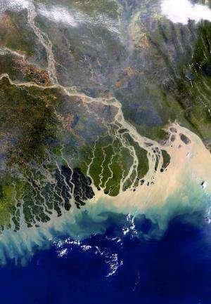 Study reveals leakage of carbon from land to rivers, lakes, estuaries and coastal regions