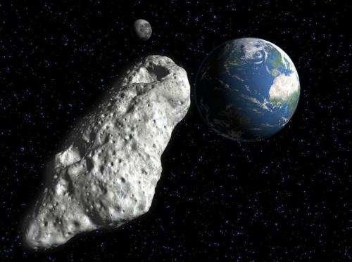 Asteroids no match for paint gun, says professor