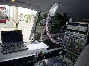 First 10 Gbps packet transmission in outdoor experiment, paving way for super-high-bit-rate mobile communications