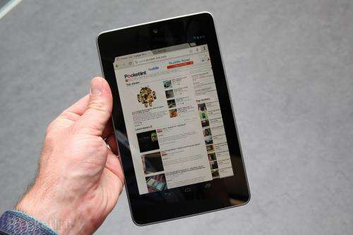 Review: Google's new tablet outshines Samsung's