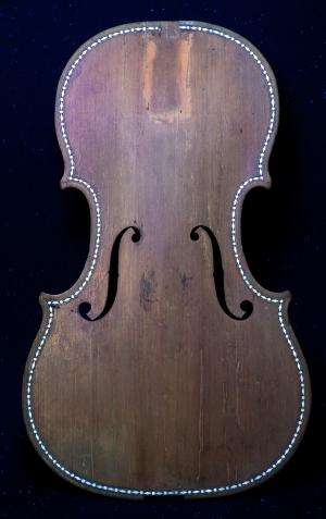 Scientists unveil historical clues to Stradivari's craft
