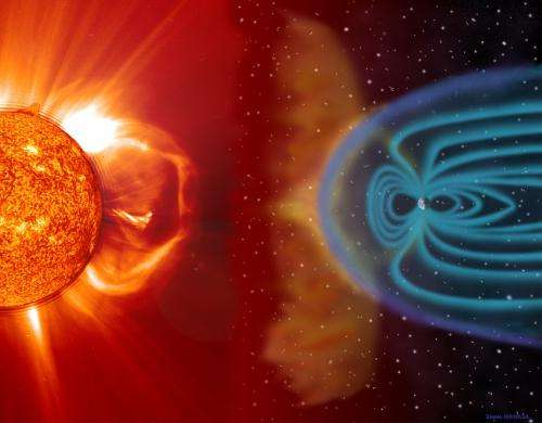 Supercomputers capture turbulence in the solar wind