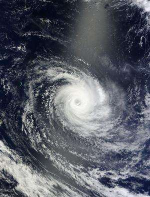 NASA satellites see Tropical Cyclone Amara affecting Rodrigues Island
