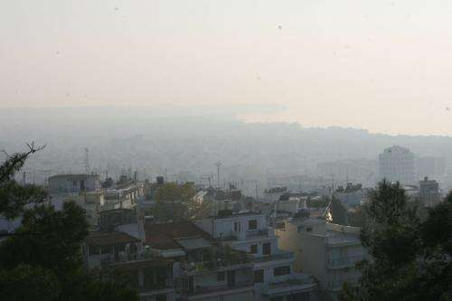 Greek economic crisis leads to air pollution crisis