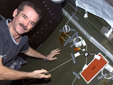 International Space Station technology to 'hear' potential leaks