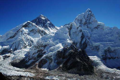Scientists find extensive glacial retreat in Mount Everest region