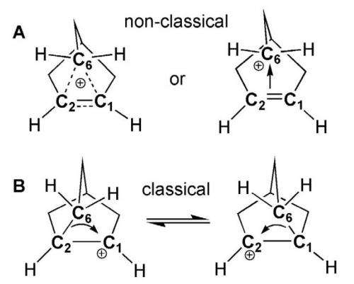 German scientists solve nonclassical 2-norbornyl carbocation structure