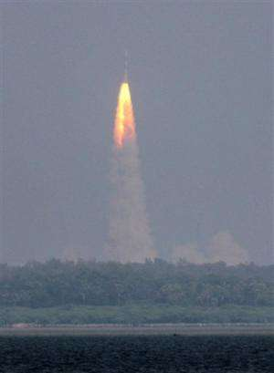 India launches first mission to Mars