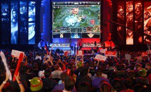 'League of Legends' champs win in legendary venue