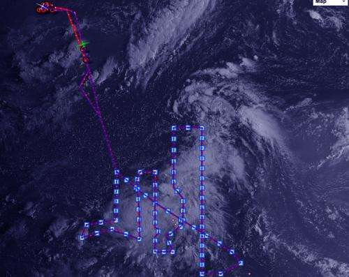 NASA's HS3 Mission Global Hawk data used in National Hurricane Center forecast of Gabrielle