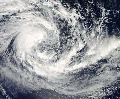 NASA sees Tropical Cyclone 15S form in So. Indian Ocean