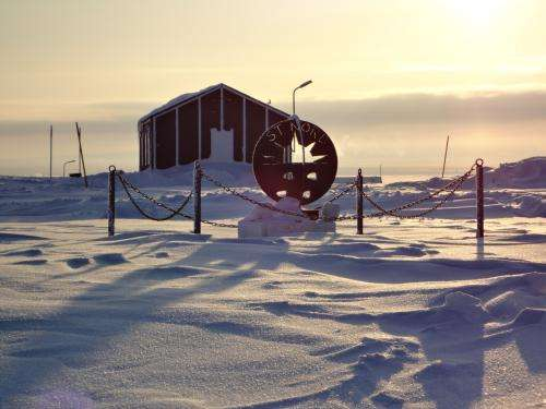 Aarhus University builds research station in North Greenland
