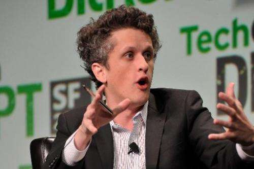 Aaron Levie of Box speaks on September 11, 2013 in San Francisco, California