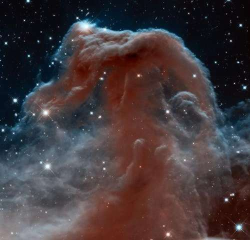 A fresh take on the Horsehead Nebula
