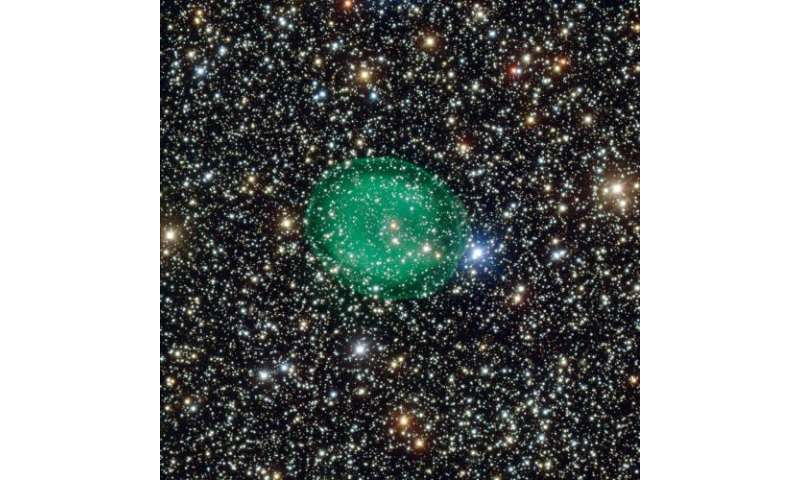 A ghostly green bubble: VLT snaps a planetary nebula